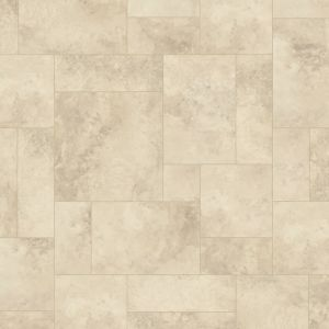 Karndean Art Select Alderney Lm03 Random Tile Effect Lvt Flooring In Limestone Shade For Kitchens And Bathrooms