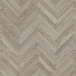 Knight Tile Parquet Effect Luxury Vinyl Flooring In Medium Grey Wood Effect Design For Kitchens And Hallways Sm-Kp138