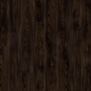Authentic Dark Wood Effect Vinyl Flooring Planks With Bevelled Edges Moduleo Impress Dryback Laurel Oak 51992