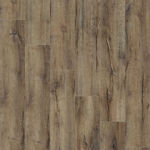 Distressed Wood Effect Glue Down Vinyl Flooring Planks Mountain Oak 56870 Impress