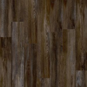 Dark Brown Wood Effect Luxury Vinyl Flooring Planks Moduleo Santa Cruz 59963