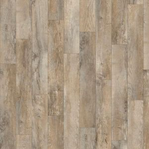 Light Worn Oak Design Rigid Click Vinyl Flooring Planks By Moduleo 24918Lr