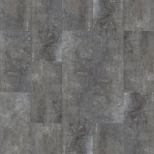 Layred Click Vinyl Flooring In Grey Stone Effect With Integrated Underlay Jetstone 46982Lr