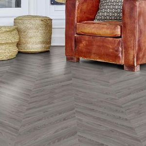 Moduleo Moods Chevron Basic Grey Wood - Combination 101