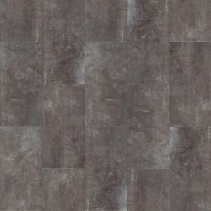 Moduleo Stone Effect Click Vinyl Tiles In Dark Grey Concrete Look Jetstone 46982