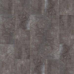 Moduleo Stone Effect Click Vinyl Tiles In Dark Grey Concrete Look Jetstone 46982