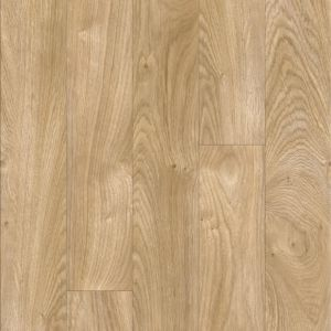 4V Medium Oak Wood Effect Moduleo Flooring 24418 For Use In Dining Rooms, Bedrooms And Hallways