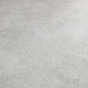 Plain Grey Stone Effect Vinyl Flooring Sheet With Felt Backing