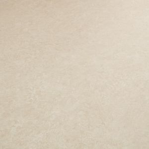 Atlas Pierrot 533 Plain Vinyl Flooring Sheet In Cream Stone Design