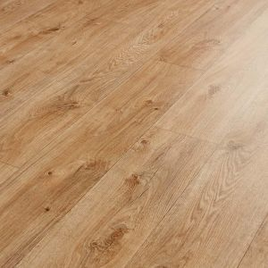 Medium Oak Vinyl Flooring Sheet In Wood Effect Pattern Rivington