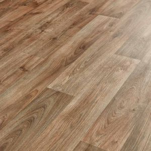 Atlas Tavel 547 Dark Oak Sheet Vinyl Flooring Lino For Kitchens And Bathrooms