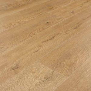 universal rigid core click vinyl flooring planks in medium oak with attached underlay massimo oak