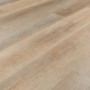 medium brown wood effect click lvt flooring with integrated underlay for residential and commercial use roasted pecan