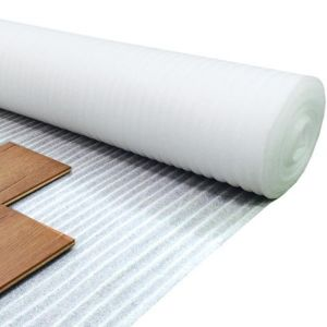 White Cell Foam Laminate Flooring Underlay For Use With Wood And Stone Effect Floors