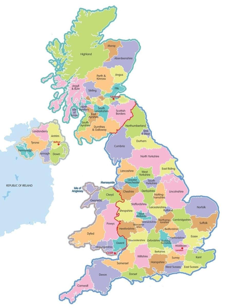 flooring delivery locations in the United Kingdom